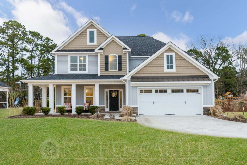 Front Exterior The Walk Hampstead NC Real Estate Photography