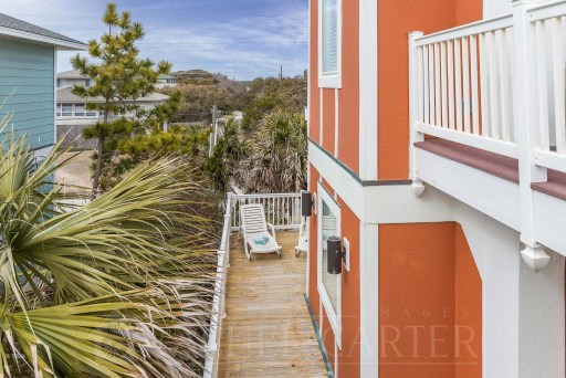 Outside Deck Tower 4 Topsail Island NC Rachel Carter Images