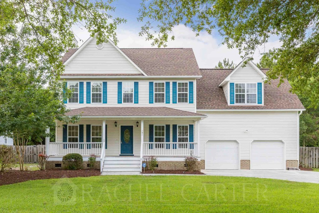 professional real estate photography spring exterior sneads ferry nc