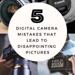digital camera mistakes
