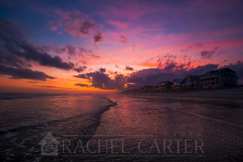 winter sunset north topsail beach rachel carter images rci plus topsail