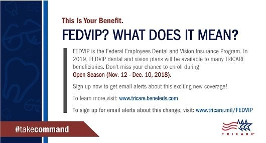 FEDVIP tricare dental insurance changes for 2019 RCI plus topsail