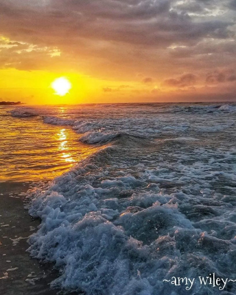Sunrise in North Topsail Beach taken by Amy Wiley - RCI Plus Topsail