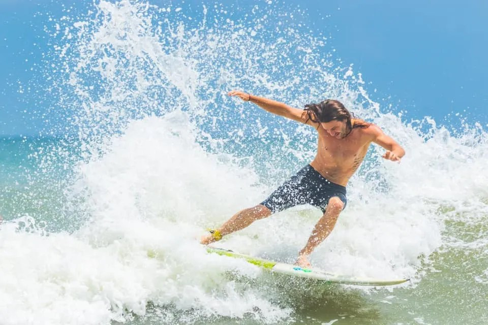 surfer in Surf City, NC by Mark C. Morris Photography - RCI Plus Topsail