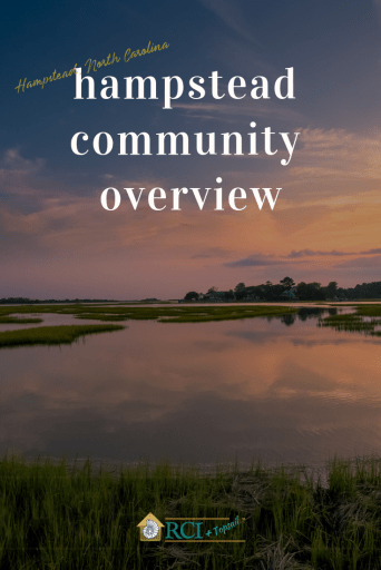 Hampstead Community Overview - RCI Plus Topsail