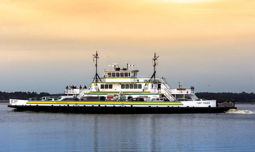 ferry fort fisher rci plus topsail