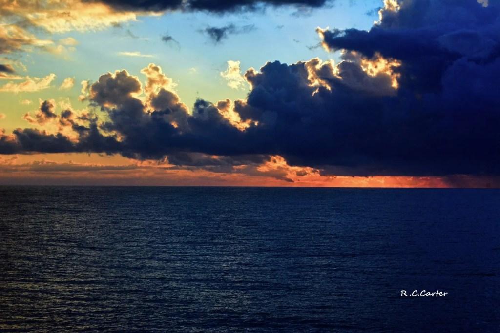 North Topsail Beach Sunrise, captured by Bob Carter