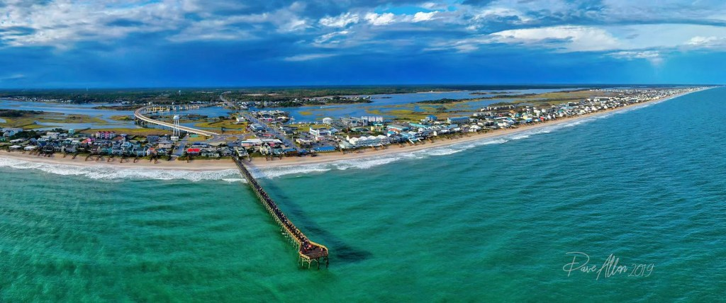 Surf City Pier Panorama, captured by Dave Allen (5 Nov 2019)