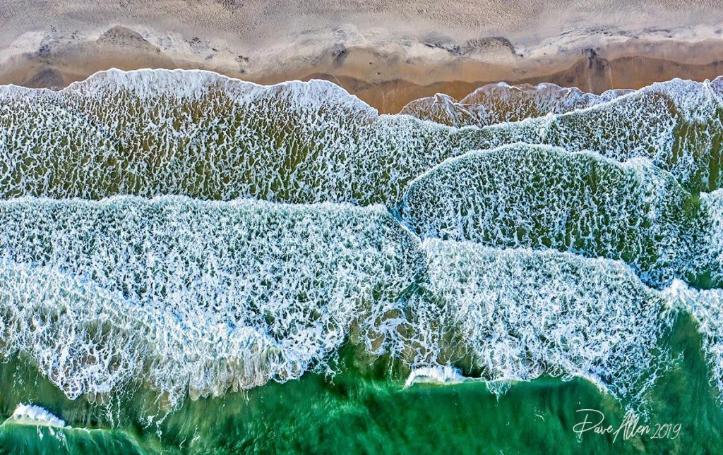 Waves from Above, captured by Dave Allen (5 Nov 2019)