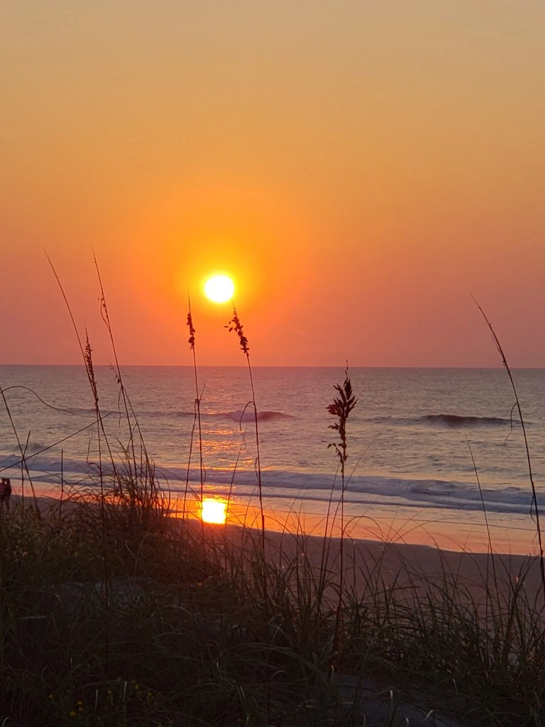 North Topsail Beach captured by Shirley Duvall