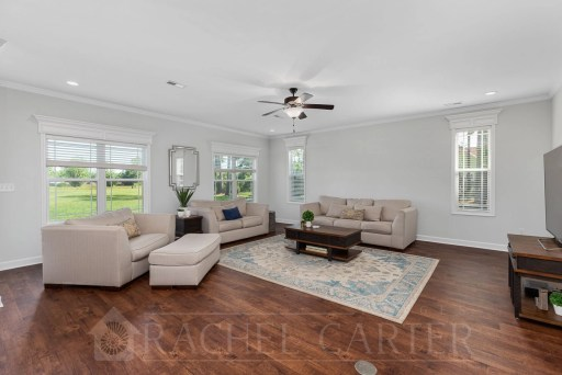 staged house for sale holly ridge, nc rachel carter images