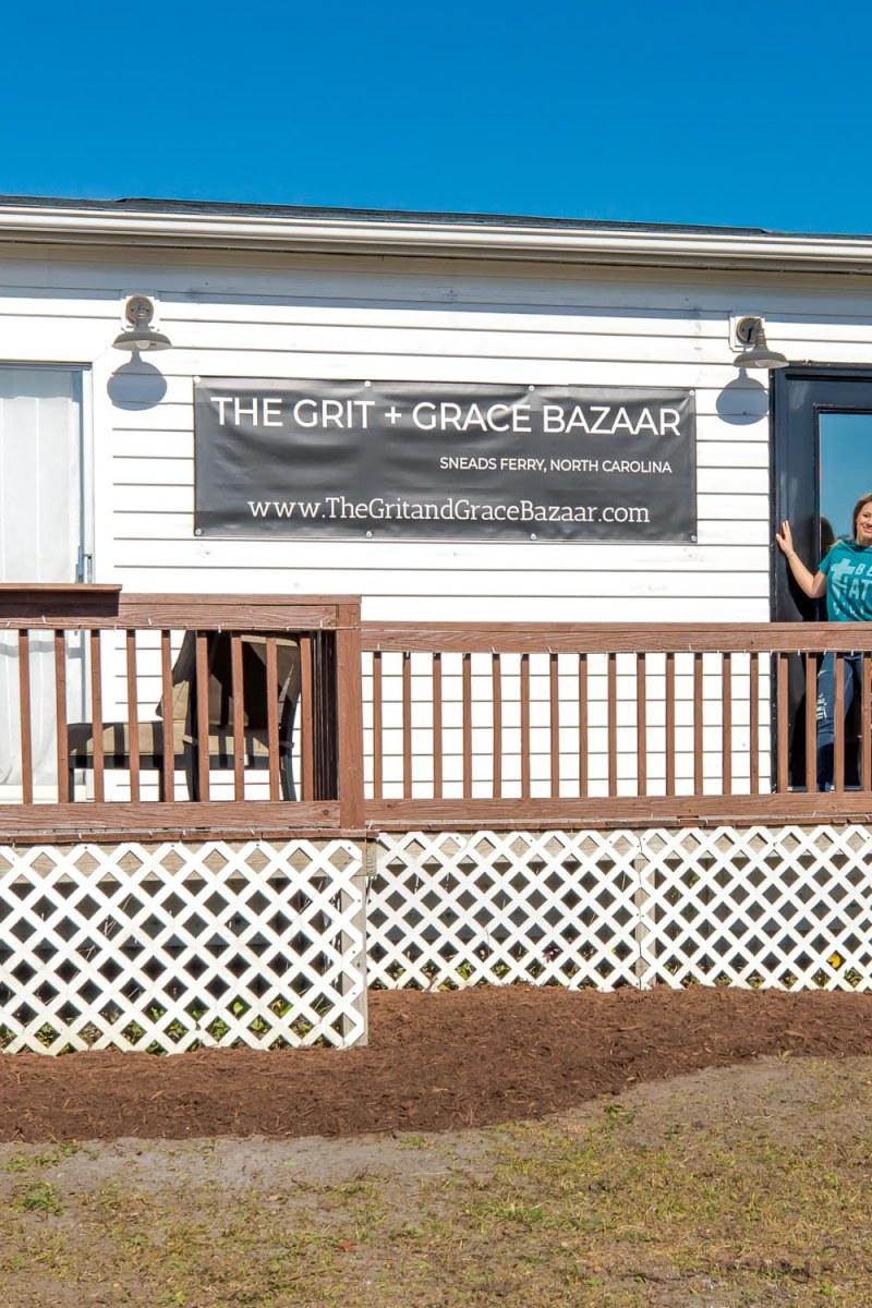 the grit+grace bazaar, sneads ferry, nc