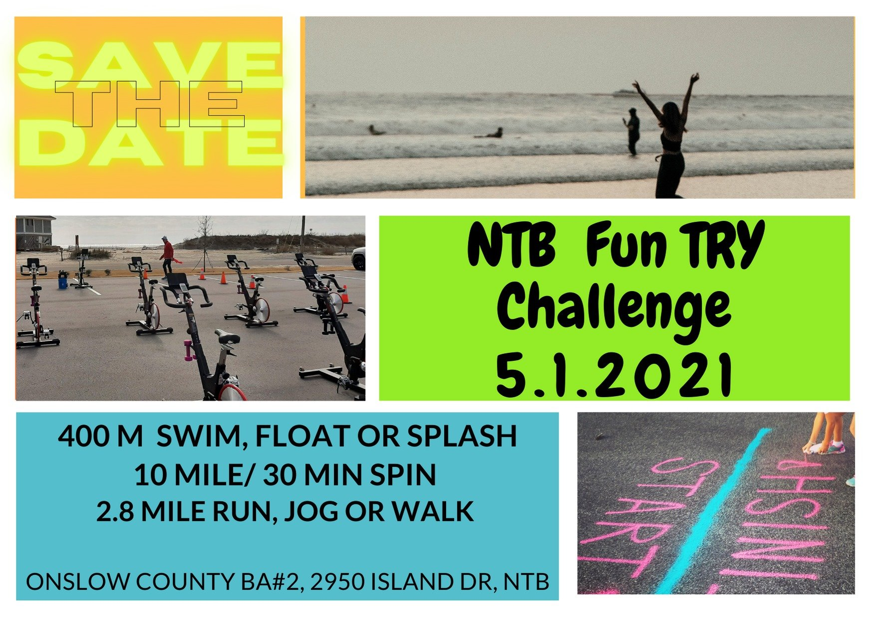 NTB Fun TRY Challenge - North Topsail Beach, NC