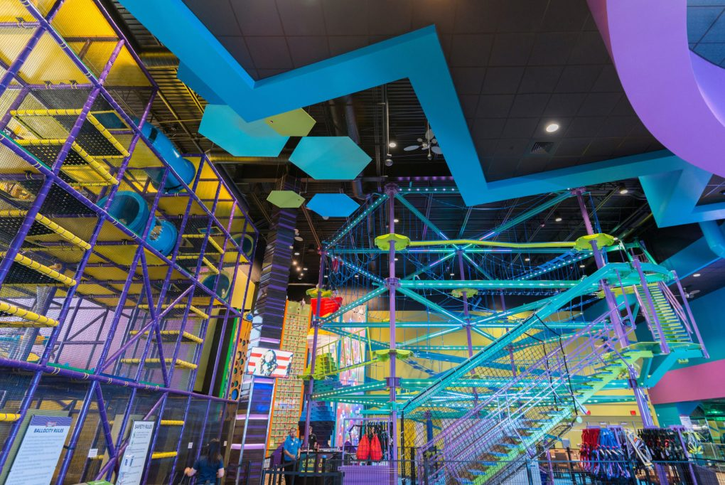Wahooz Family Fun Zone_Sky Trail Ropes Course