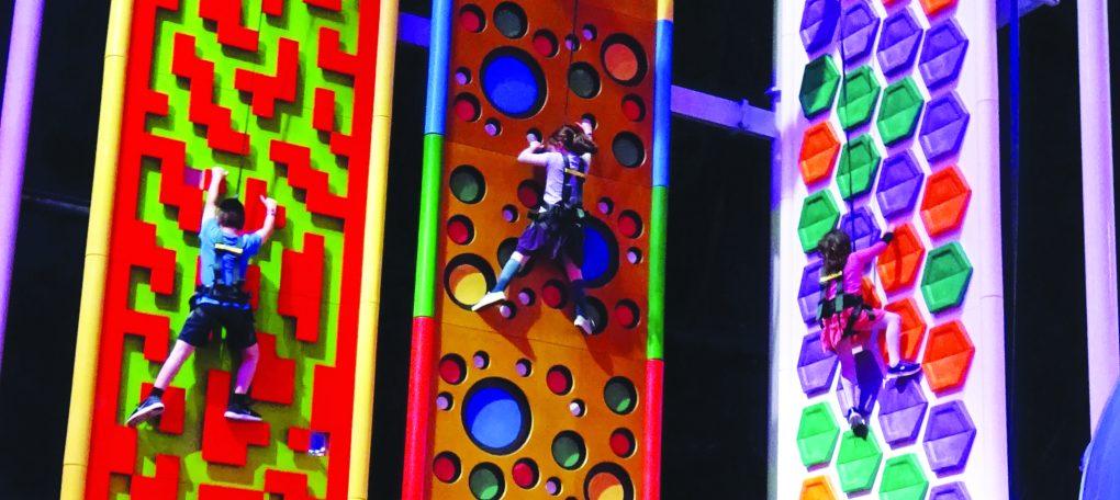 Clip 'n Climb climbing challenges