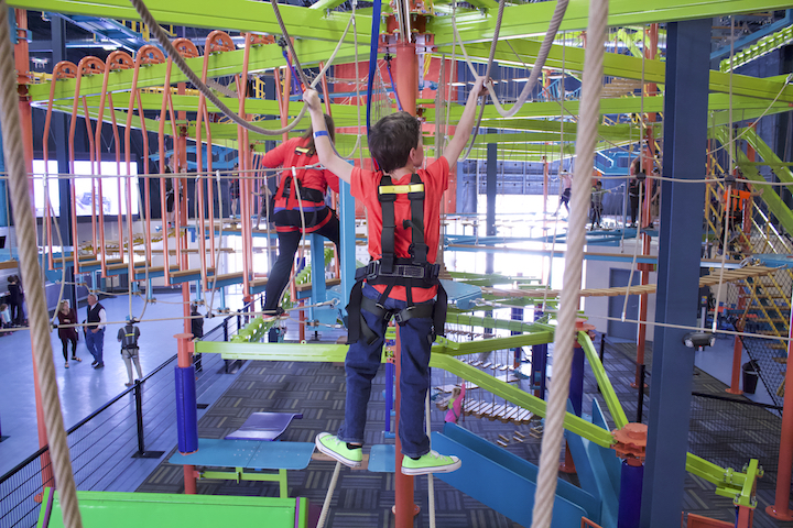 Sky Trail Ropes Course Climbing Walls Event Center