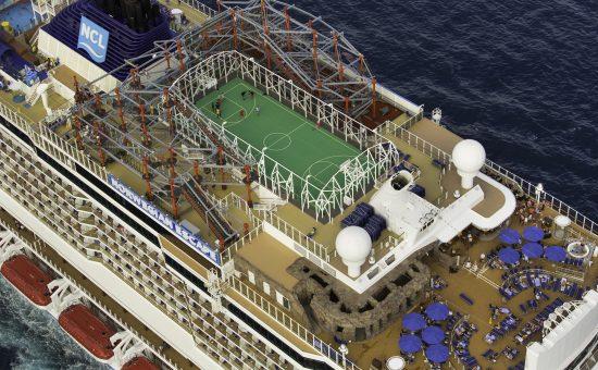 Norwegian Cruise Ropes Course Zip Line
