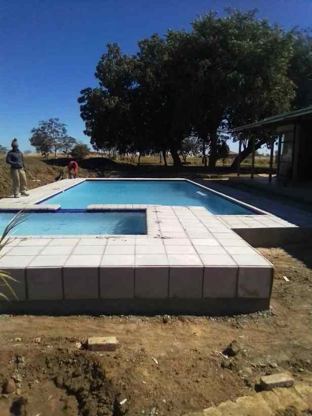 3. Pool ready for use