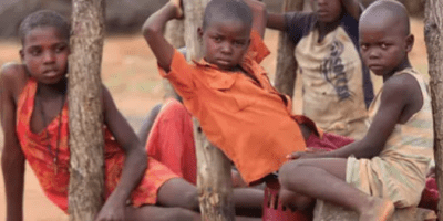 School children in Africa facing education challenges amidst the COVID-19 pandemic