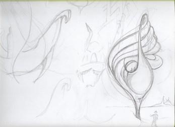 Sand-ships sketch #1