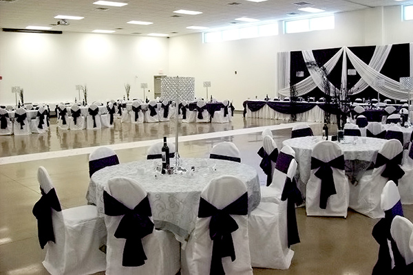 chair cover rentals windsor ontario club chairs and table banquet hall legion 594 on the