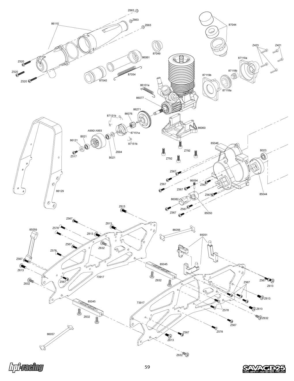 hight resolution of hpi 4 6 max parts diagram blog wiring diagram hpi savage 4 6 parts diagram