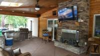 Joe M. Staub Building Group - Covered Patio with Outdoor ...