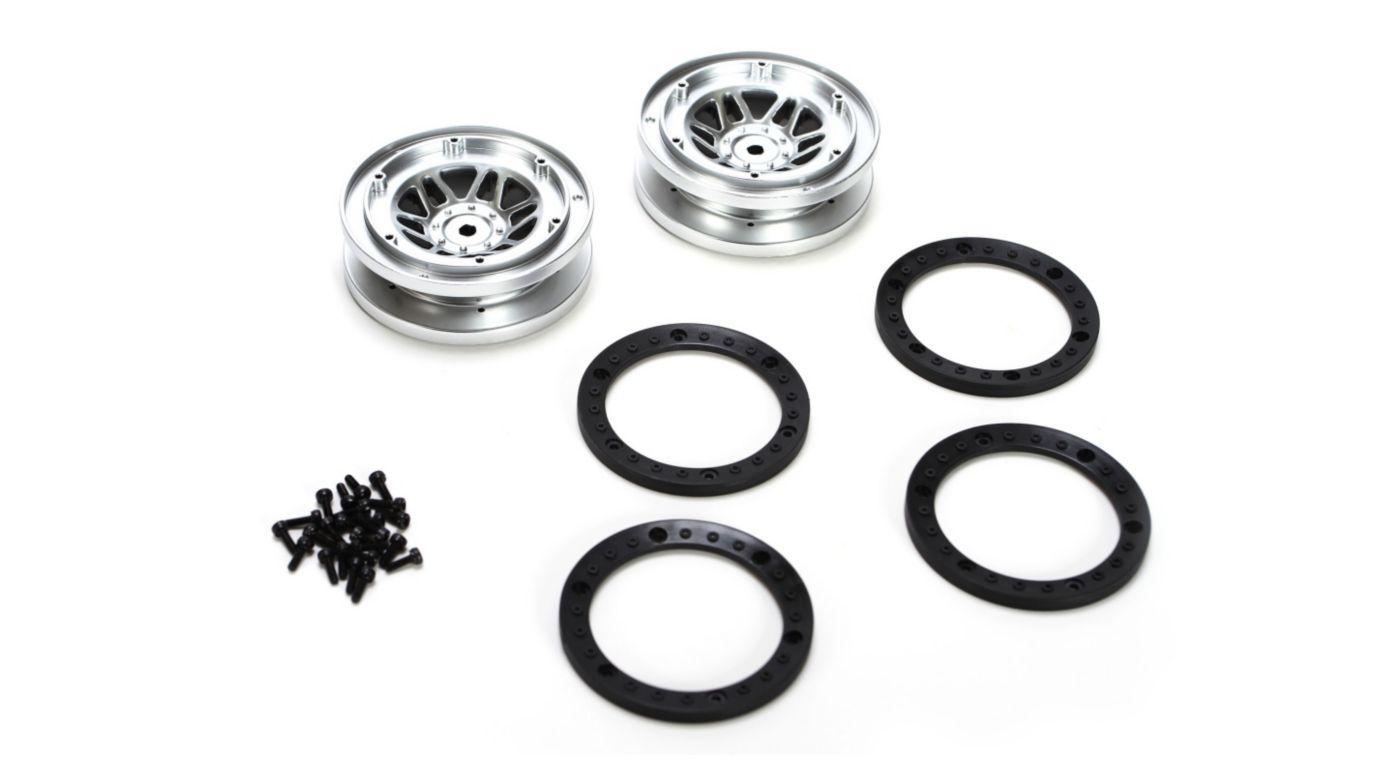 Beadlock Wheel With Rings 2 Twin Hammers