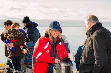 Polar Bear Swim2015, Davis Bay
