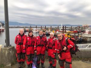 RCMSAR34 crew at SAREX 2018