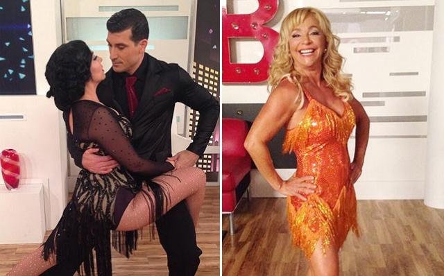 ' Mira Quien Baila '...Graciela Beltran Y Monge Nominadas