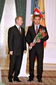 В.В. Путин и А.В. Хабаров