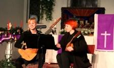 Савицкая И.В. - концерт в Гродно, лютня, дуэт (29.11.2015)