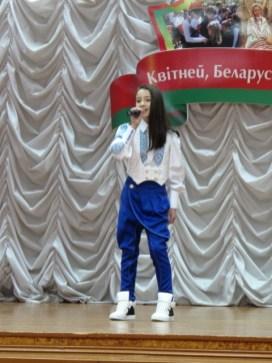 """""""Песня без границ"""" - конкурсантка"""
