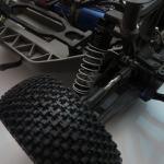 Close-up of the Pro-Line Gladiator tread...
