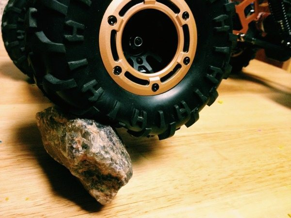 Forget the foam: Removing tire foams for more crawling grip.
