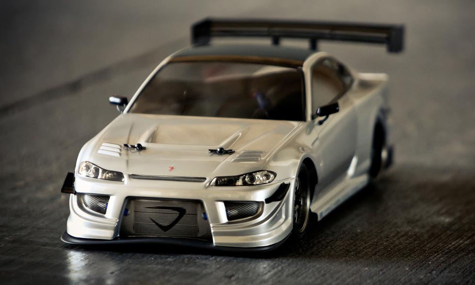 One more for the road: Vaterra RC's Nissan Silvia S15