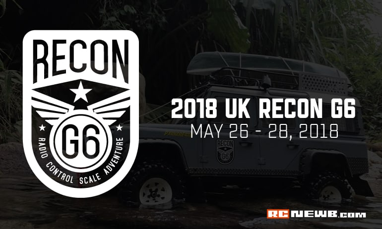 An R/C Adventure with Aliens? Get Ready for the UK RECON G6 2018