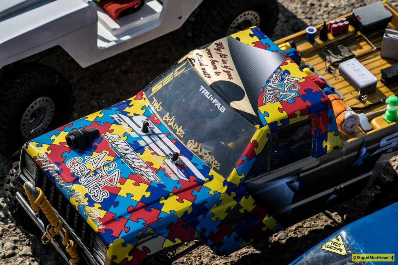 "Relive the 2nd Annual ""Autism Awareness R/C Crawl"" Through the Lens of James Tabar"