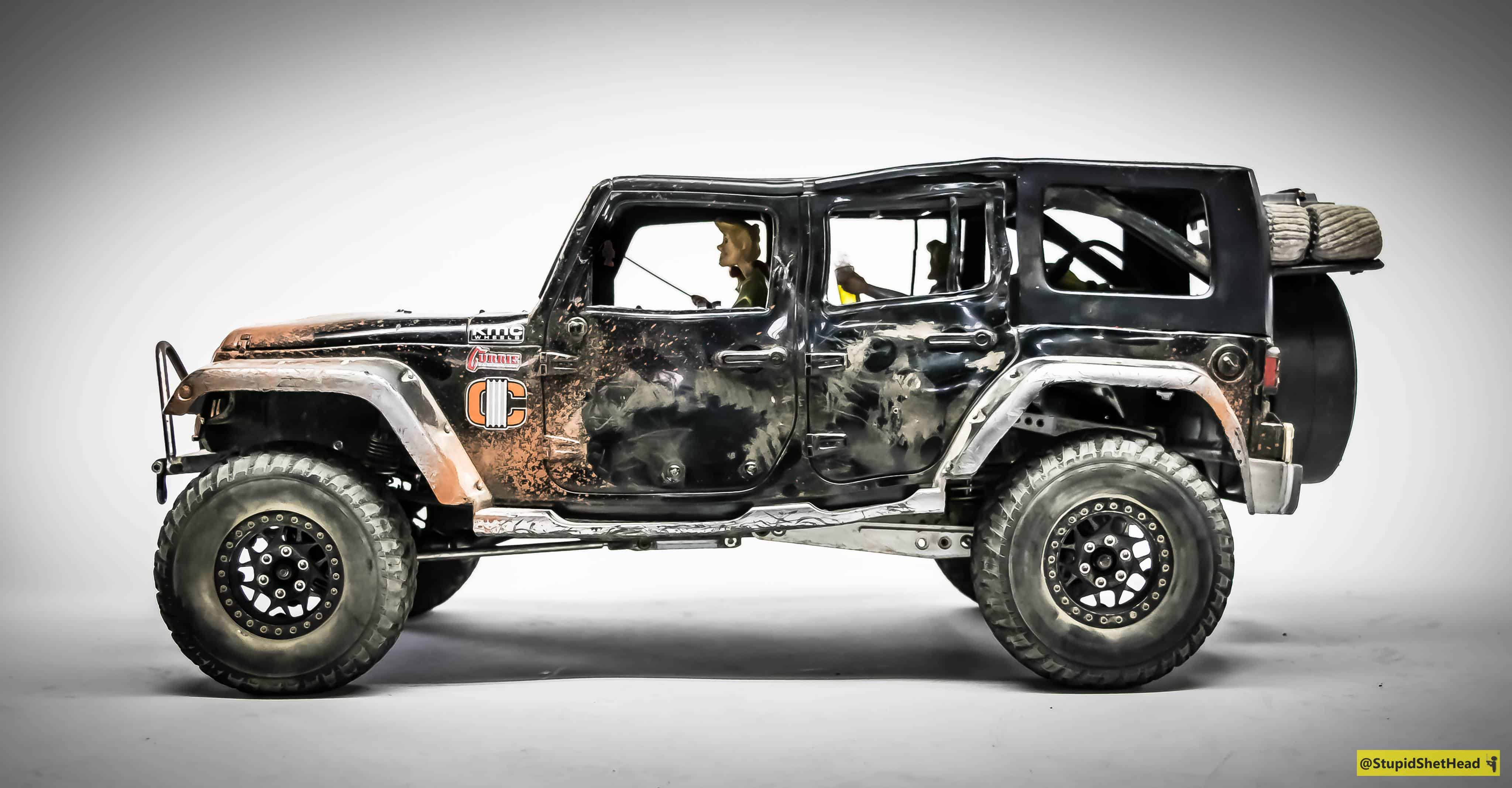A Busted Beauty: James Tabar's #ProjectMadJeep