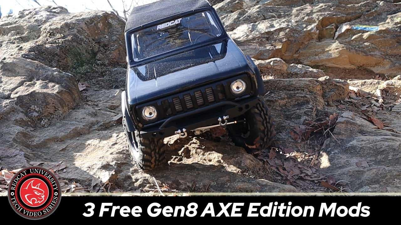 Tweak Your Redcat Racing GEN8 AXE Edition With These Three, Free Modifications