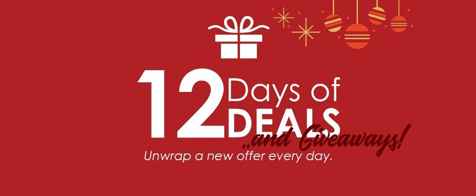 """AMain Hobbies """"12 Days of Deals and Giveaways"""" Returns for 2019"""
