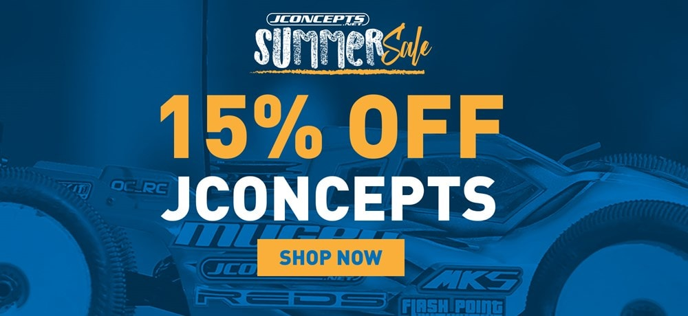 15% Off JConcepts Gear During AMain's Summer Sale