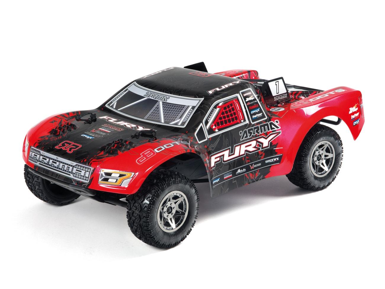 ARRMA Fury BLX 1/10 Short Course Truck