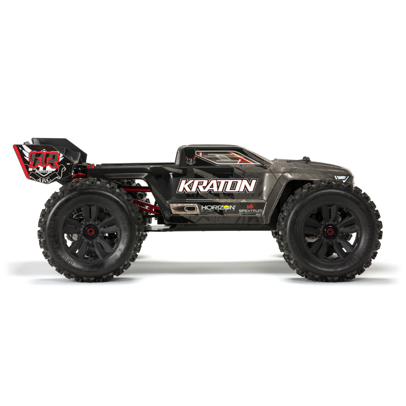 ARRMA Kraton EXB Extreme Bash Roller Monster Truck - Side
