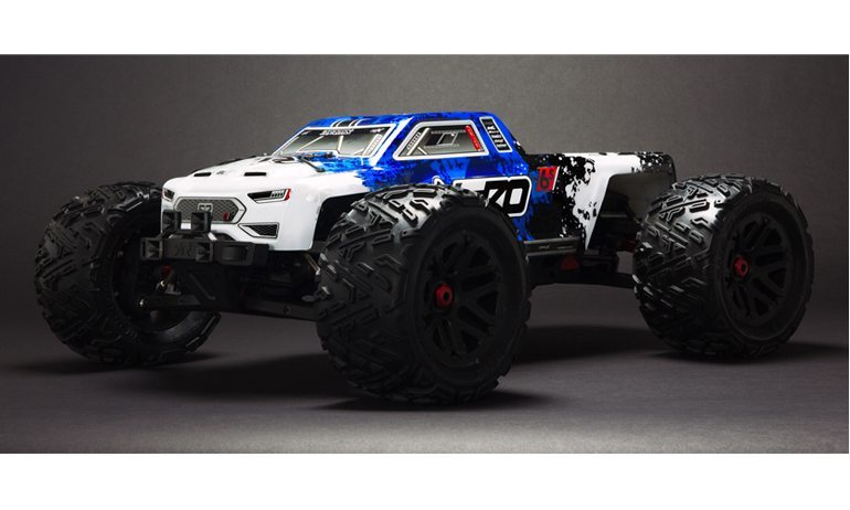 """A Radio-Controlled Monster Truck with """"Brain Power"""""""