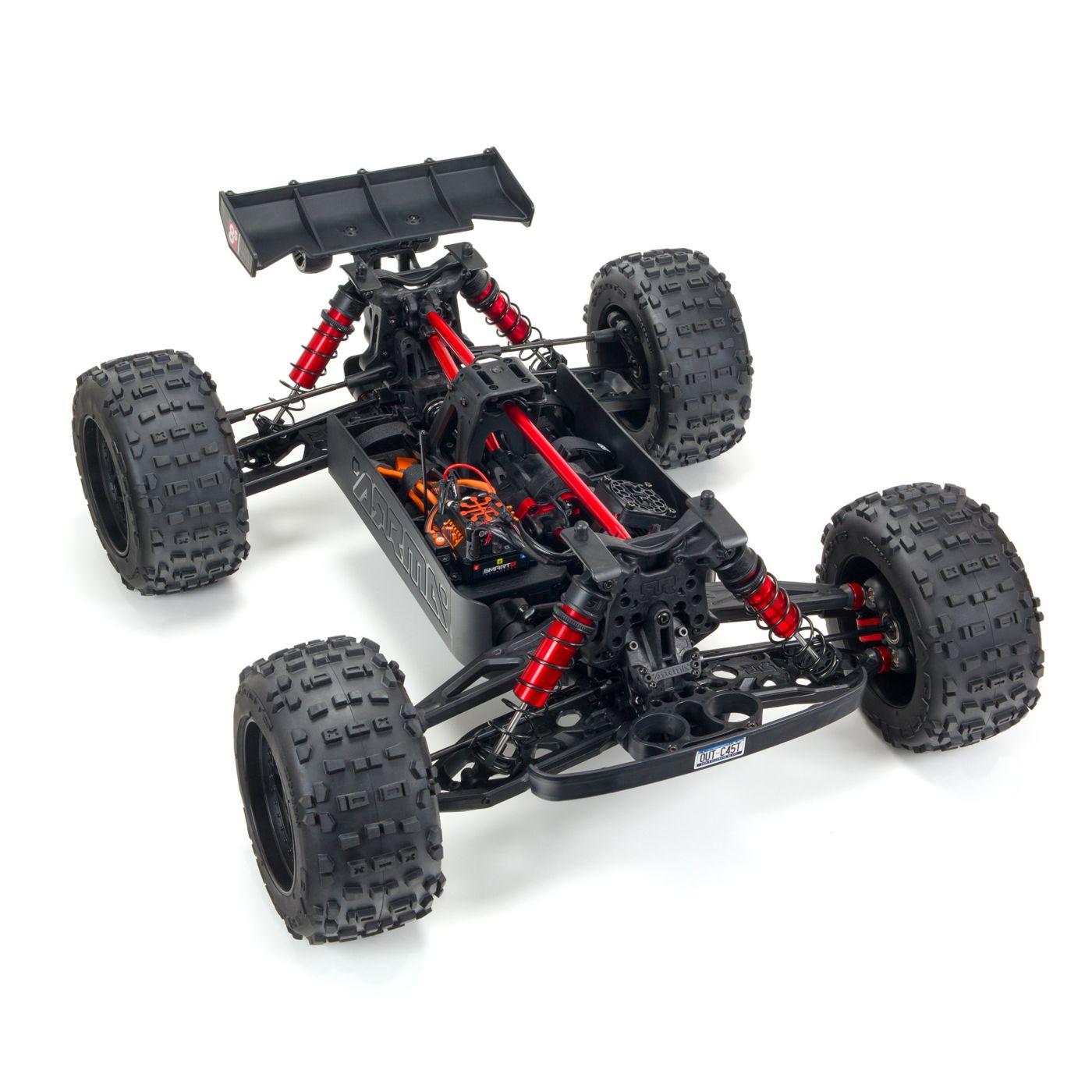 ARRMA Outcast Fifth-scale 8S Stunt Truck - Chassis