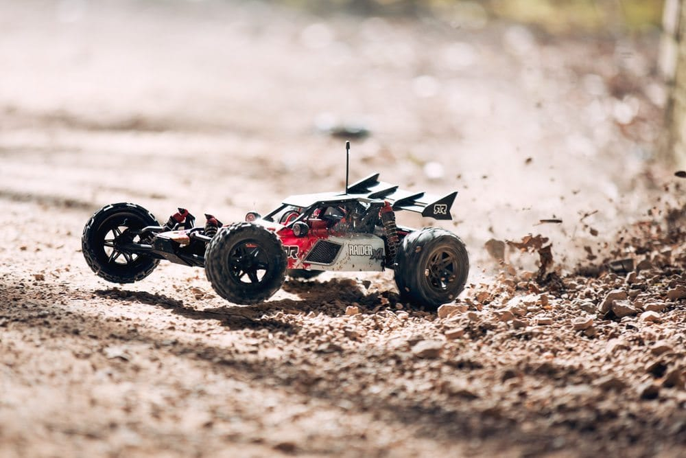 ARRMA's Ramped-up Raider-XL 1/8 R/C Buggy