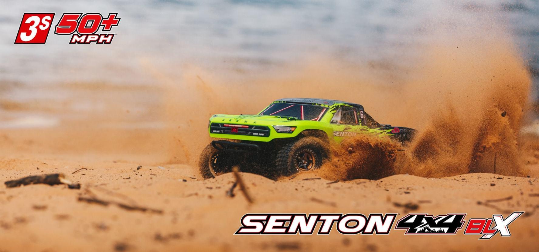 See It In Action ARRMA Senton 4x4 3S BLX Video