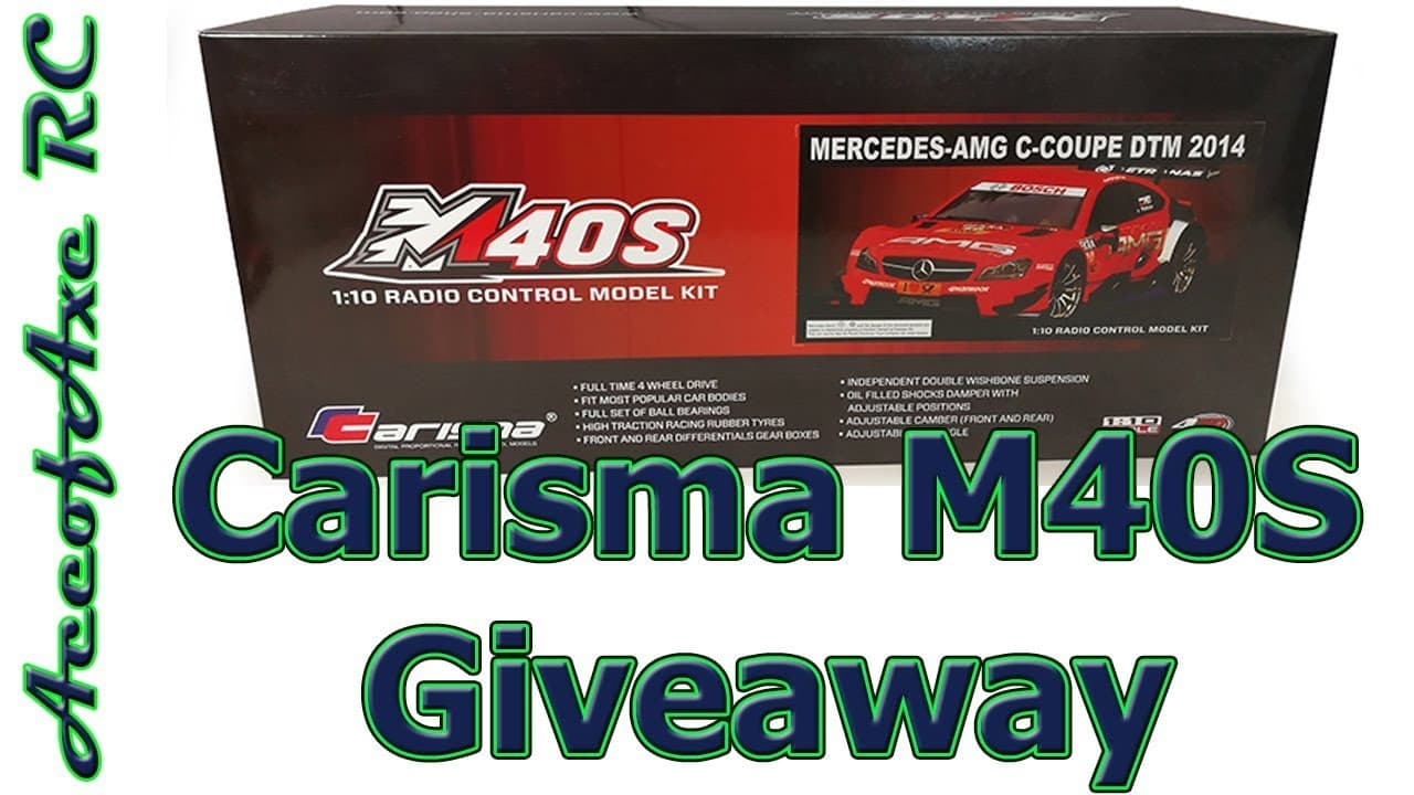 Enter to Win a Carisma M40S Kit from AceOfAxe RC